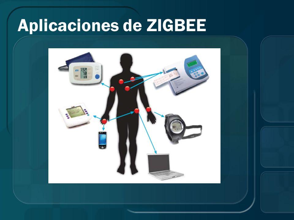 Aplicaciones de ZIGBEE