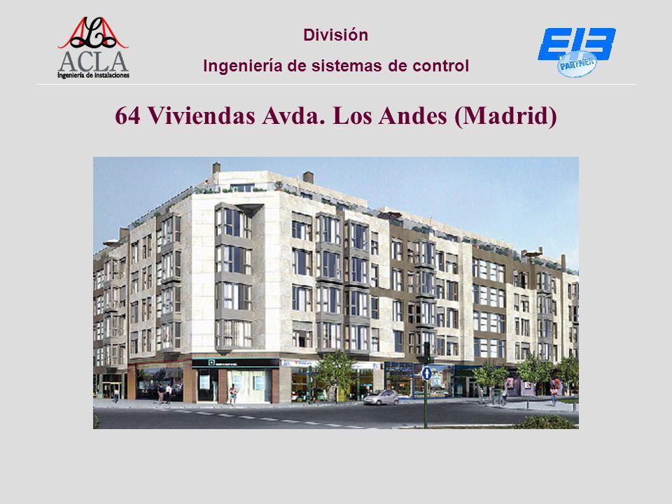 División Ingeniería de sistemas de control 64 Viviendas Avda. Los Andes (Madrid)
