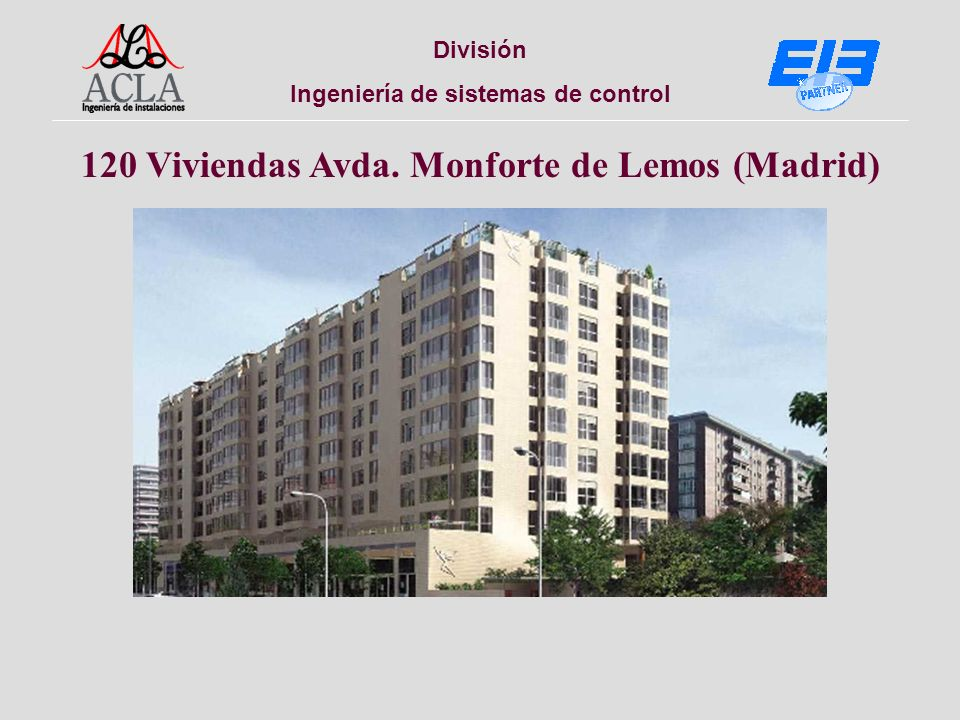 División Ingeniería de sistemas de control 154 Viviendas c/ Antracita (Madrid)