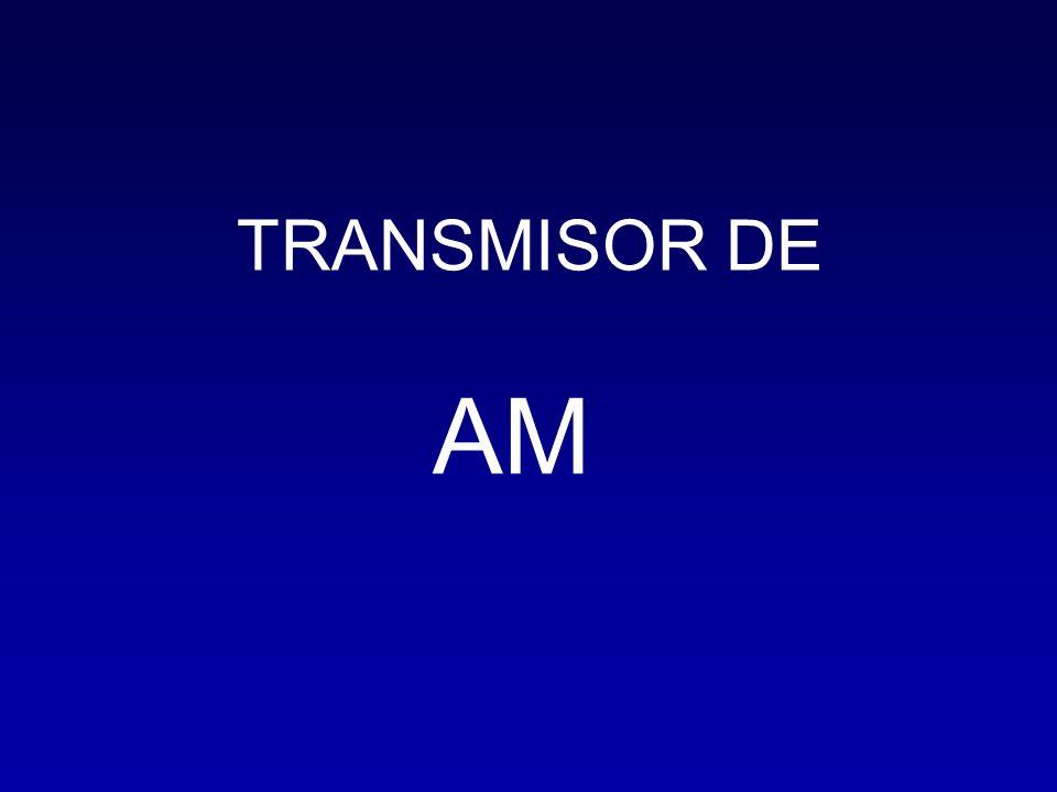 TRANSMISOR DE AM