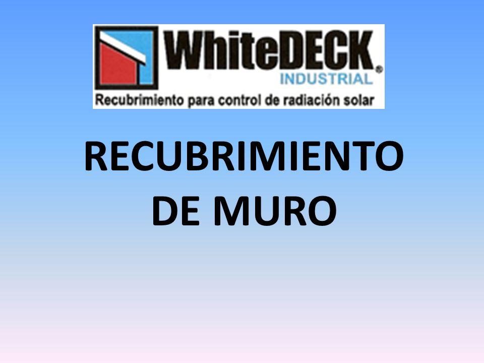 RECUBRIMIENTO DE MURO