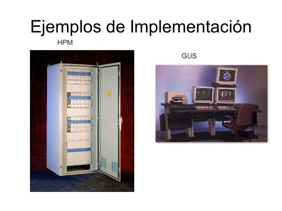 Ejemplos de Implementación HPM GUS