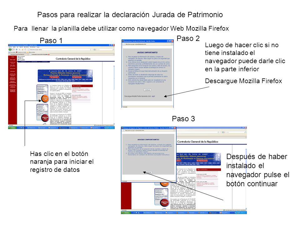 Paso 12 Paso 12: Lea cuidadosamente la parte de los datos según la opción que este de acuerdo con usted.