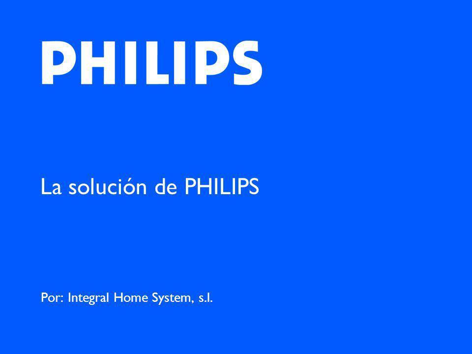 La solución de PHILIPS Por: Integral Home System, s.l.