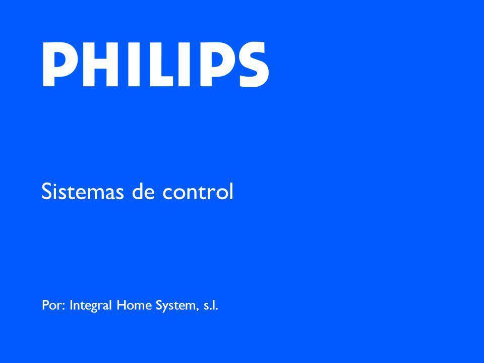 Sistemas de control Por: Integral Home System, s.l.