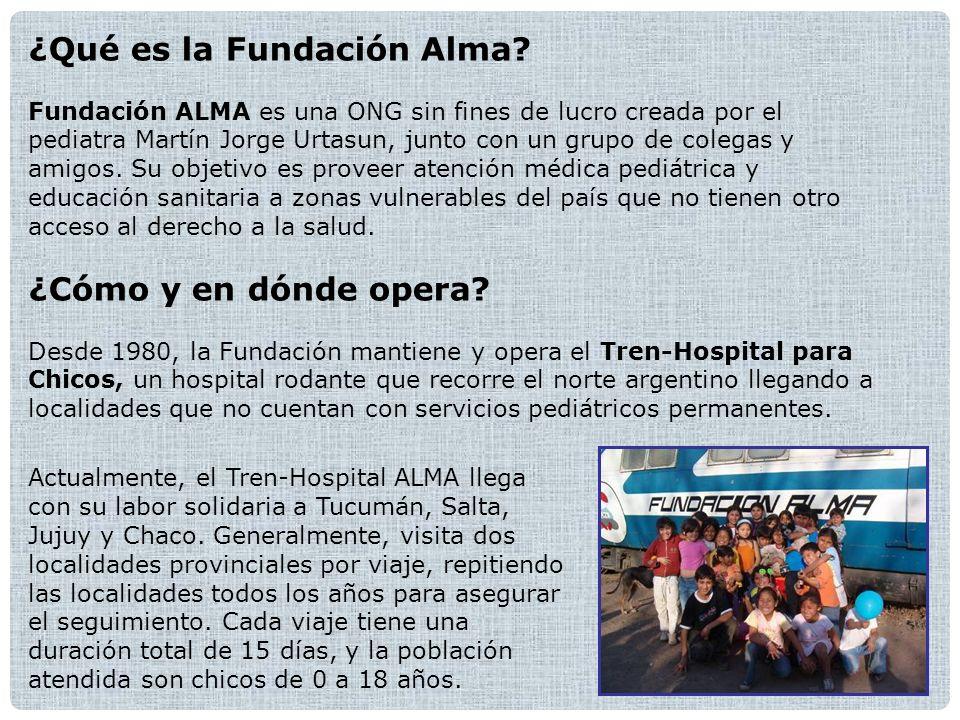 ¿Qué es la Fundación Alma.