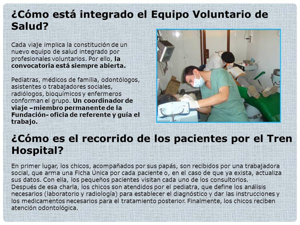 ¿Cómo está integrado el Equipo Voluntario de Salud.