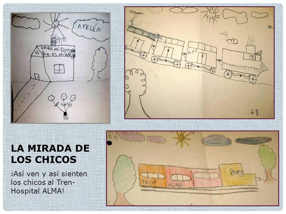 LA MIRADA DE LOS CHICOS ¡Así ven y así sienten los chicos al Tren- Hospital ALMA!