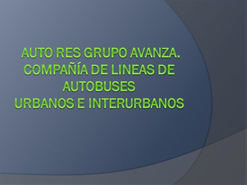 AUTORES pertenece a la compañía AVANZABUS junto a otras lineas de autobuses como son, Portillo,Alosa,Suroeste,Auto, Larrea,Avanza-lineas - interurbanas y Almeraya.