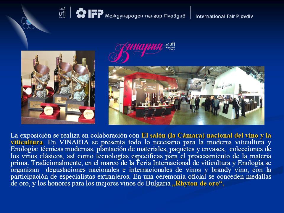 El salón (la Cámara) nacional del vino y la viticulturaRhyton de oro. La exposición se realiza en colaboración con El salón (la Cámara) nacional del v