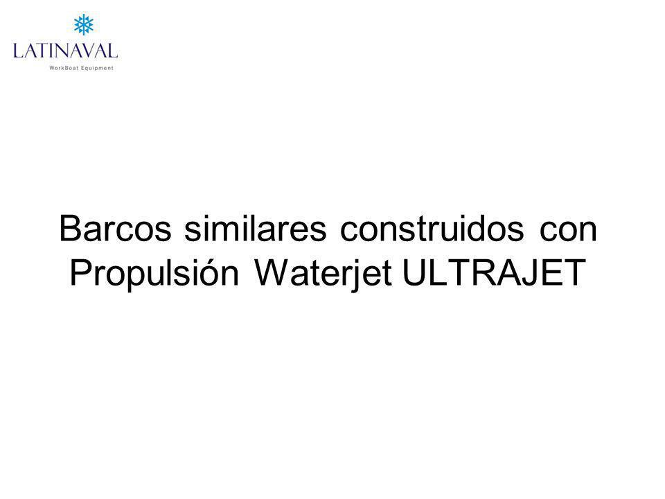 Barcos similares construidos con Propulsión Waterjet ULTRAJET