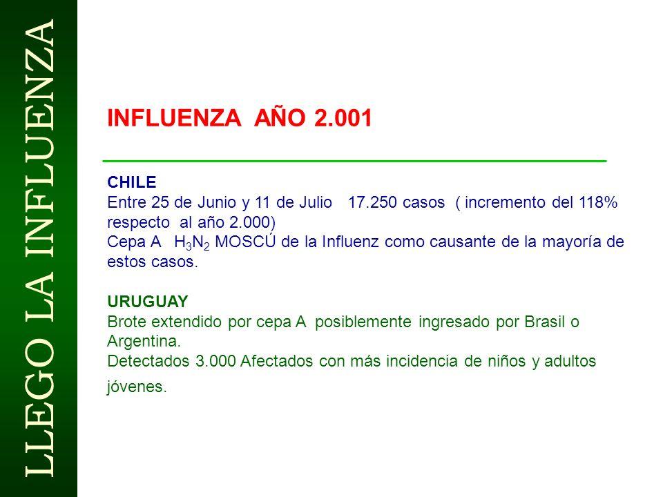 LLEGO LA INFLUENZA Población laboralmente activa Colombia 19200.000 trabajadores Tasa de ataque de la enfermedad 10 % ( 1920.000 trabajadores ) Incapa