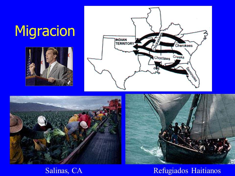 Migracion Refugiados HaitianosSalinas, CA