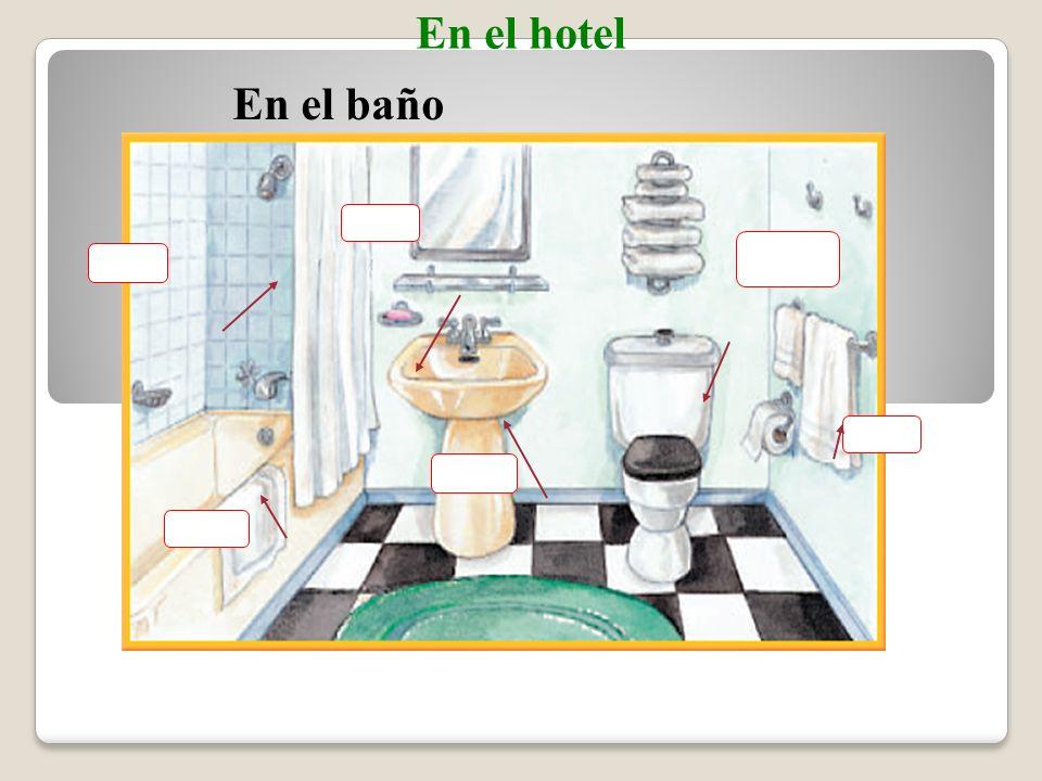 En el cuarto En el hotel La______________ El________ El_____ _ El _____________ El ______ La ______ La ____ La______ El _____