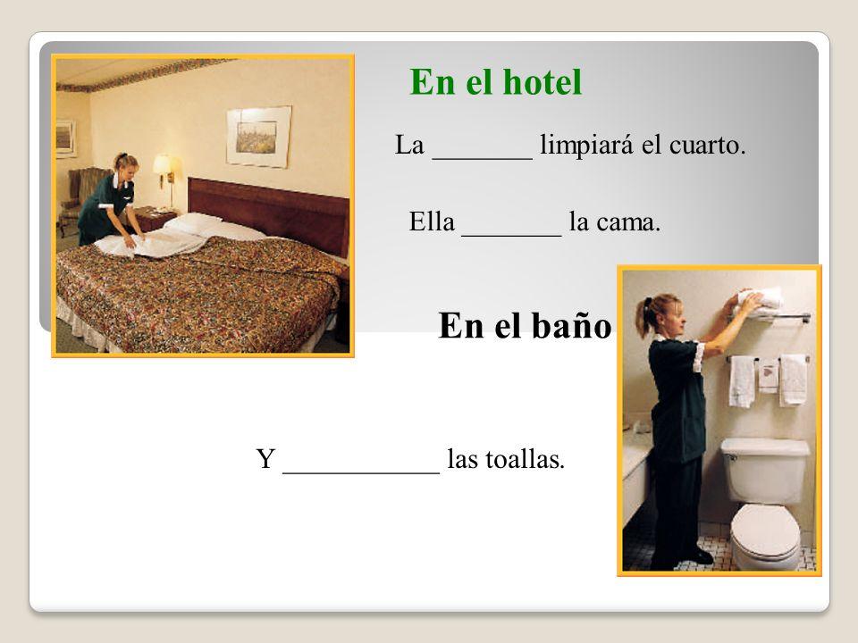 En el hotel En el baño