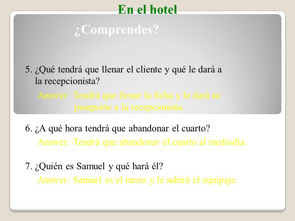 1. ¿Cómo se llama el cliente. Answer: El cliente se llama Ramón Sorolla.