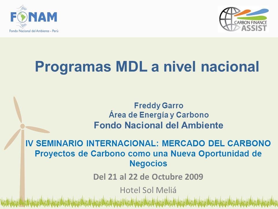Informe de Trabajo publicado en Setiembre del 2007, basado en el Potencial y Barreras para la eficiencia energética bajo el MDL Programático, tomando como ejemplo el casos Peruanos.