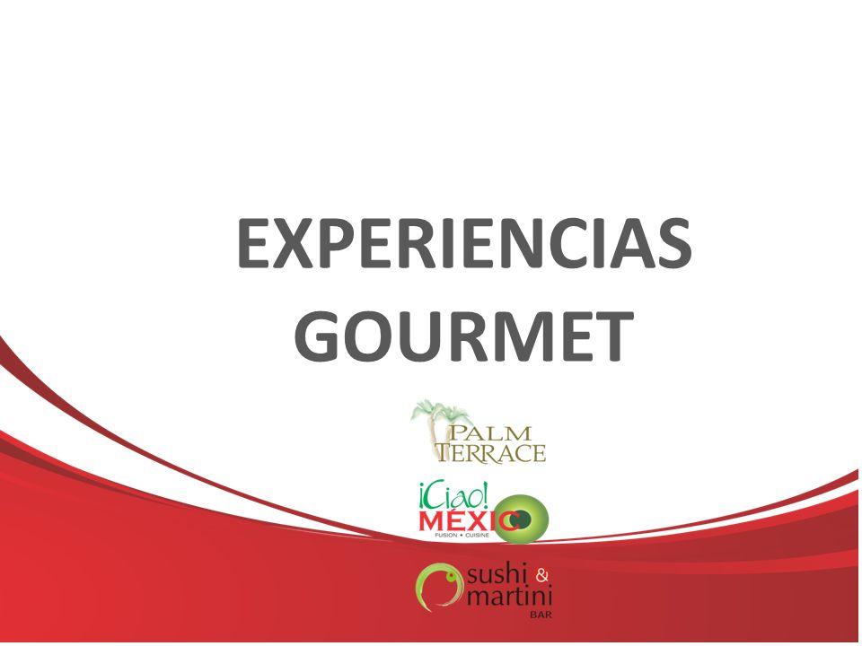 EXPERIENCIAS GOURMET