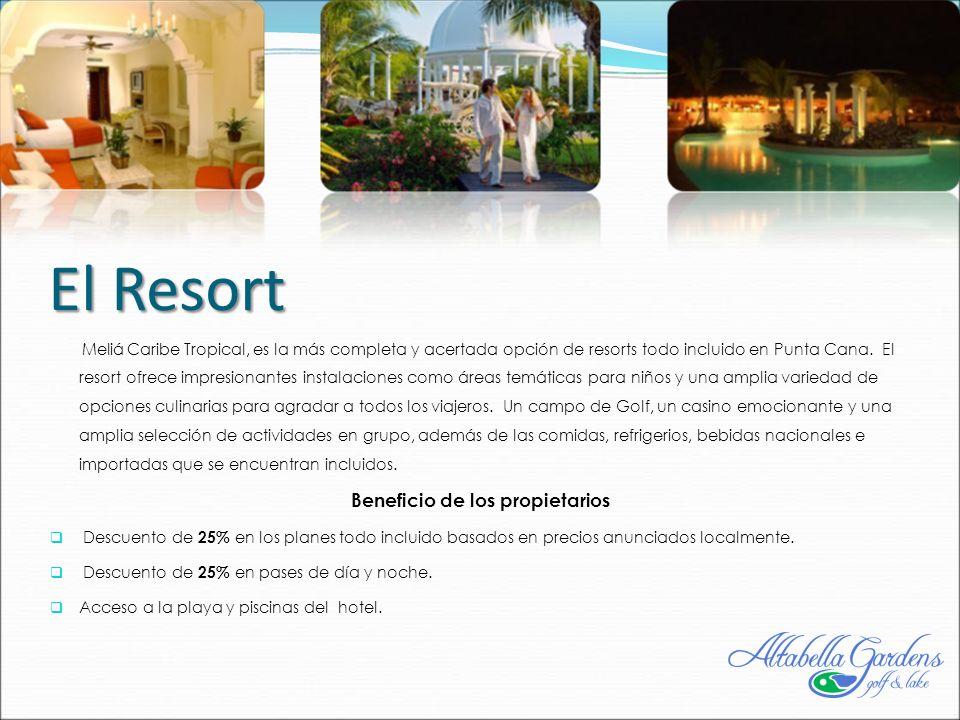 El Resort Meliá Caribe Tropical, es la más completa y acertada opción de resorts todo incluido en Punta Cana.