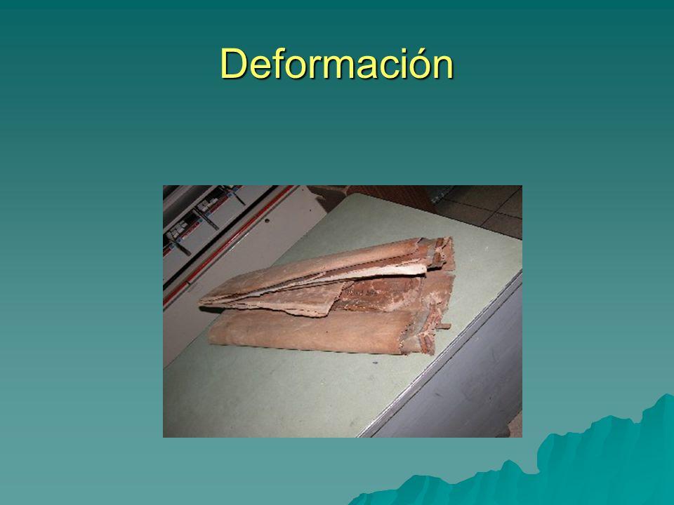 Deformación