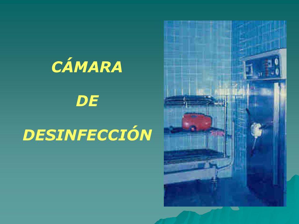 CÁMARA DE DESINFECCIÓN