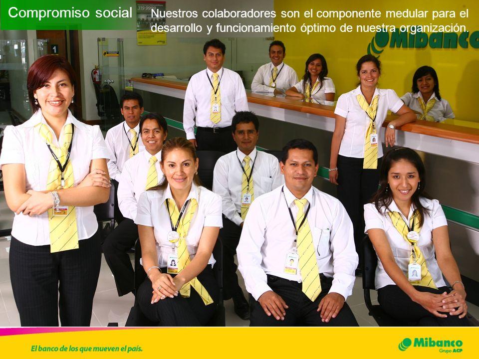Rentabilidad social y ambiental en el modelo de negocio: Límites, desafíos y posibilidades Mibanco es una organización que brinda servicios financieros y como tal, el mayor impacto que pueda tener en el medio ambiente se realizará de manera indirecta..