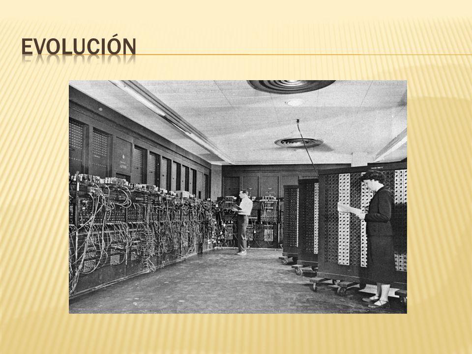 1946: en la Universidad de Pensilvania se construye la ENIAC (Electronic Numerical Integrator And Calculator), que fue la primera computadora electrón
