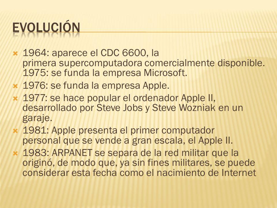 1960: aparece ALGOL, el primer lenguaje de programación estructurado y orientado a los procedimientos. 1960: se crea el primer compilador de computado