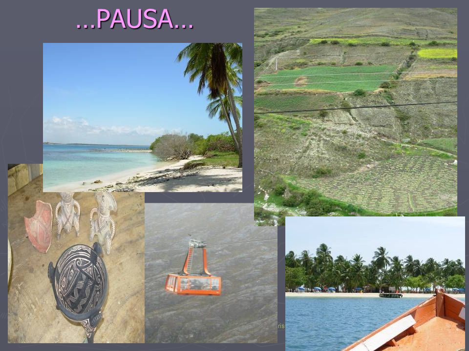 Cartagena, 04-05/02/08Ambiente, agua y desechos en el turismo insostenible 13…PAUSA…