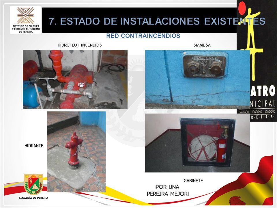 RED CONTRAINCENDIOS HIDROFLOT INCENDIOS HIDRANTE GABINETE SIAMESA
