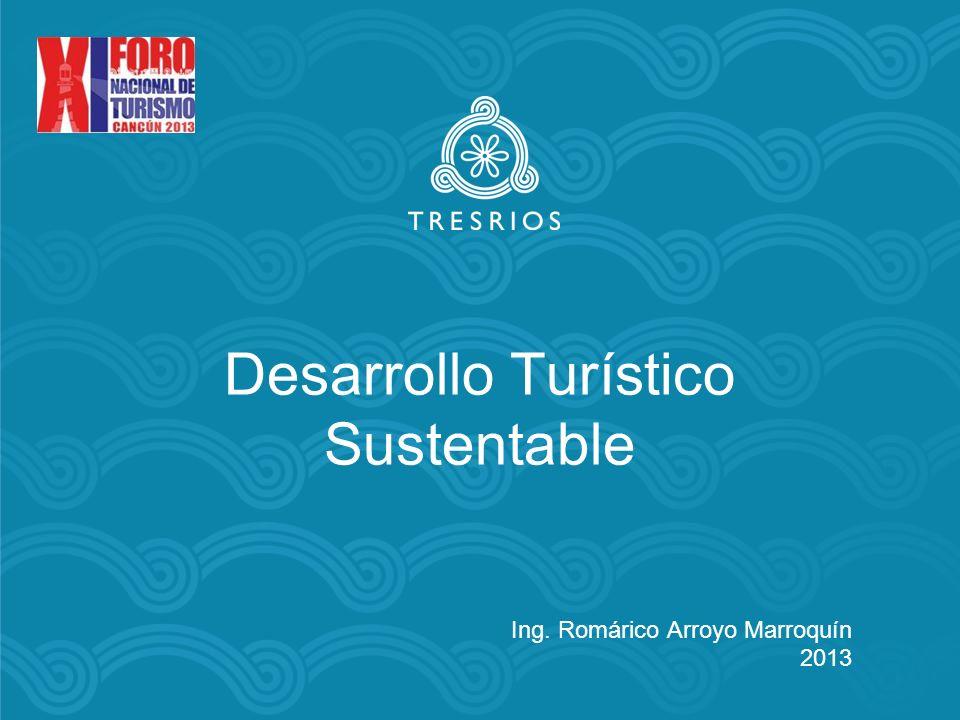 Modelo de Desarrollo Turístico Sustentable En Noviembre de 2006, la Semarnat reconoció a Tres Ríos como un Modelo de Desarrollo Turístico Sustentable a nivel regional y nacional, en la publicación: Reflexiones y Acciones para el Desarrollo Turístico Sostenible, derivadas de la Evaluación de Impacto Ambiental en el Caribe Mexicano, (Juárez, et.