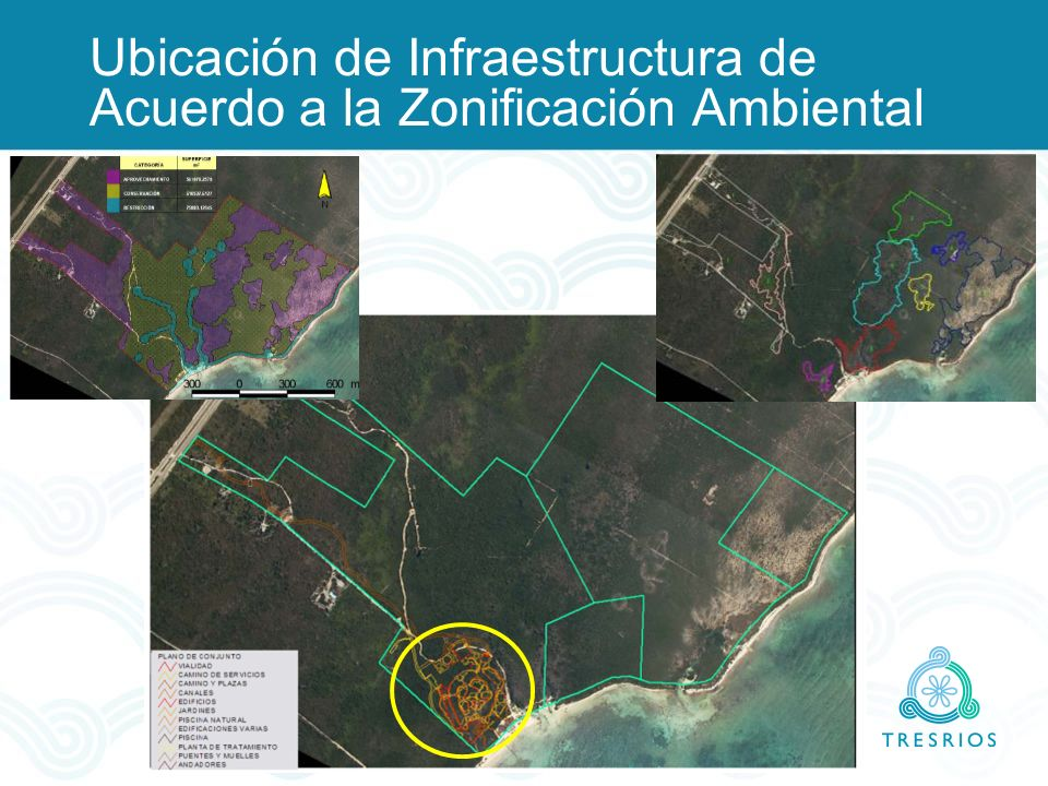 Ubicación de Infraestructura de Acuerdo a la Zonificación Ambiental