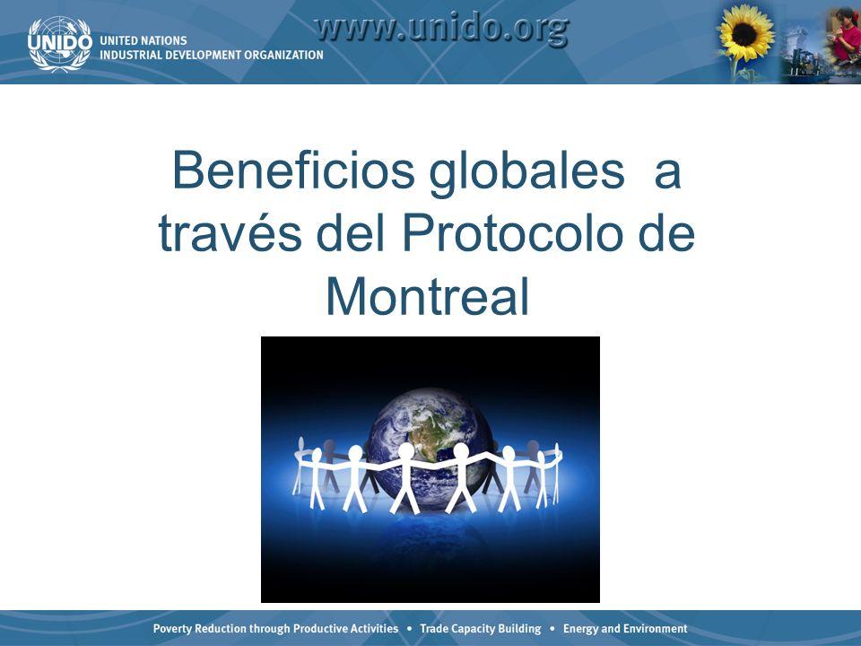 Beneficios globales a través del Protocolo de Montreal