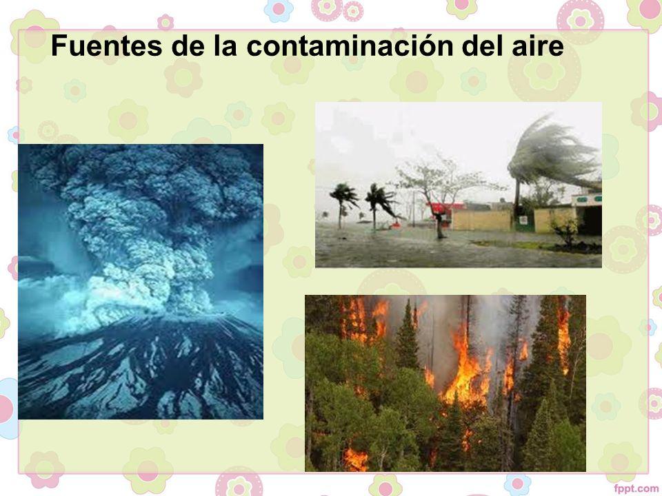 ciertos contaminantes del aire son sumamente peligrosos y pueden causar serios trastornos e incluso la muerte.