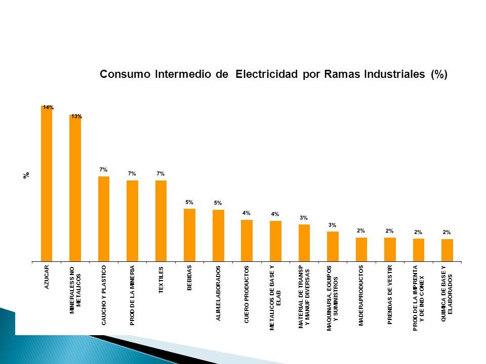 5 La Calidad, el costo y la garantía de contar con el Suministro Eléctrico es clave ya que esto permite mayor competitividad al sector.