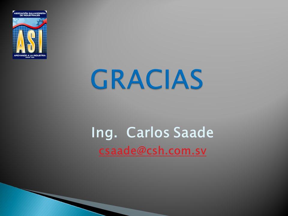 Ing. Carlos Saade csaade@csh.com.sv