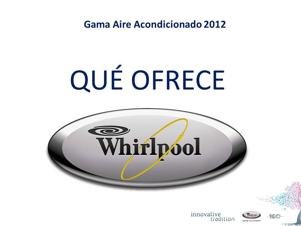 Gama Aire Acondicionado 2012 QUÉ OFRECE