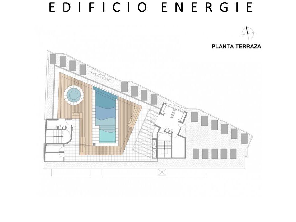 -Edificio de diseño innovador, con fachadas diferenciadas.