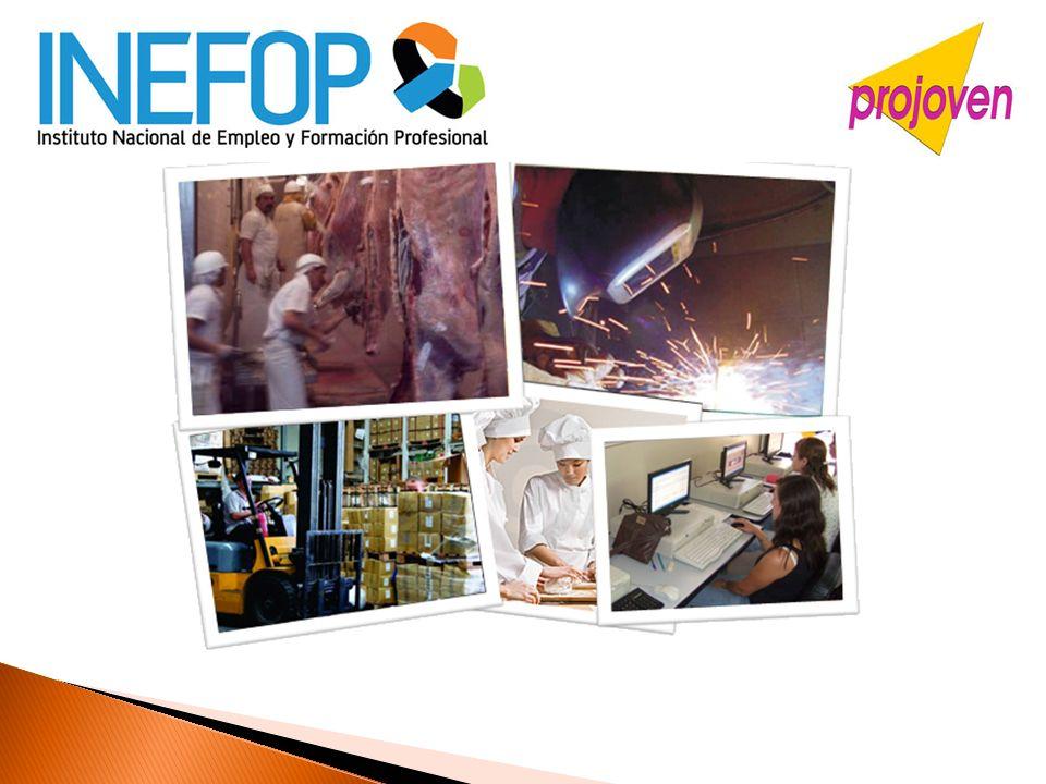 PROJOVEN es un Programa del Instituto Nacional de Empleo cuya finalidad es apoyar a los y las jóvenes de los sectores de menores ingresos para que puedan mejorar mediante un proceso de formación laboral, sus posibilidades y oportunidades de inserción en el mercado formal de trabajo.