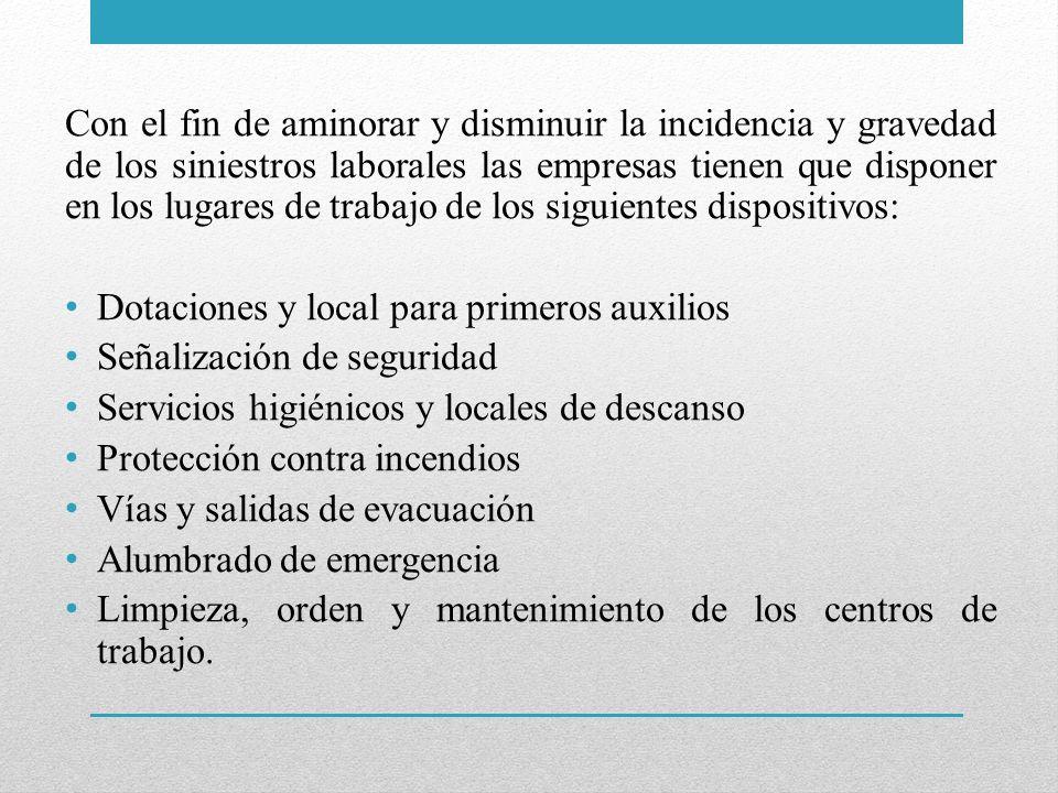 ASPECTO GENERAL DEL CENTRO DE TRABAJO El aspecto general de un centro de trabajo viene definido por la seguridad estructural que ofrezcan sus edificios.