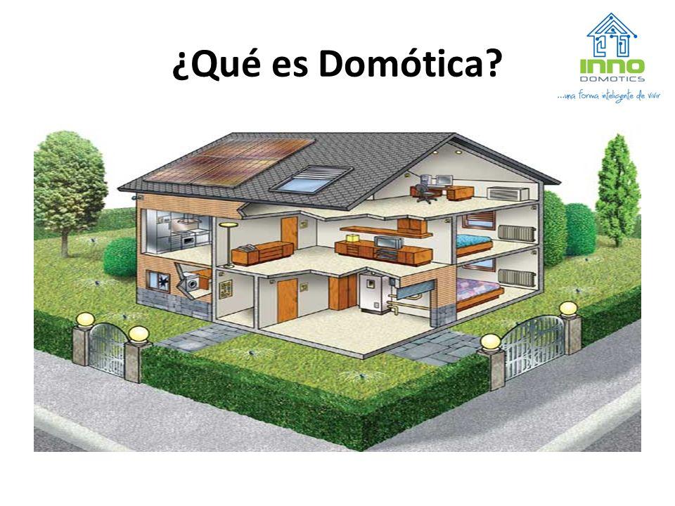 La domótica es la parte de la tecnología que estudia cómo automatizar las viviendas, con el fin de que sean más confortables, seguras y consuman menos energía.