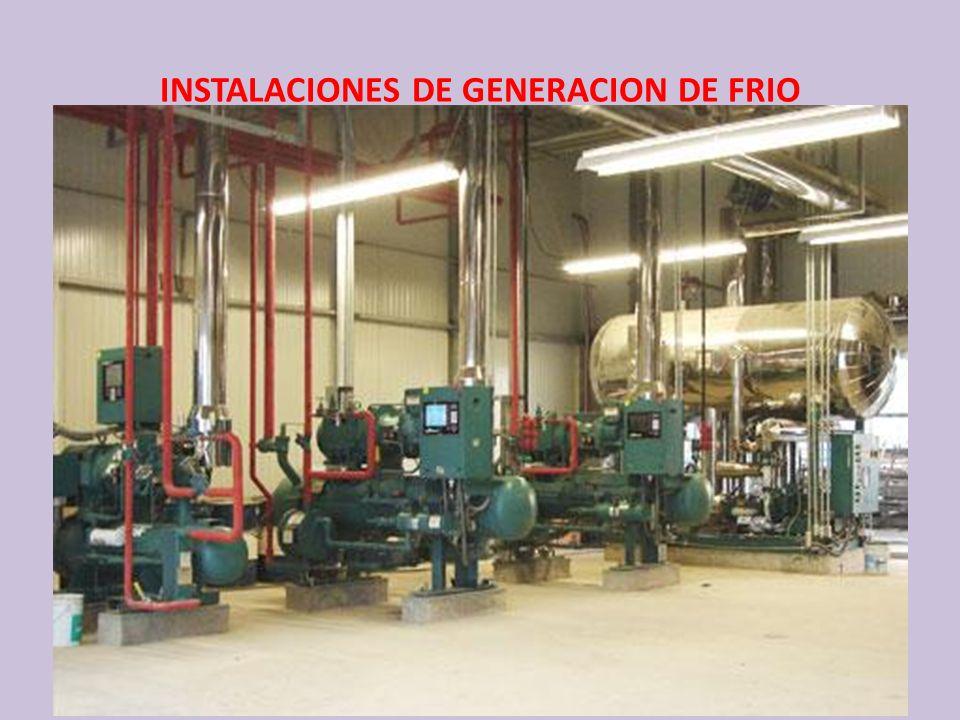 INSTALACIONES DE GENERACION DE FRIO