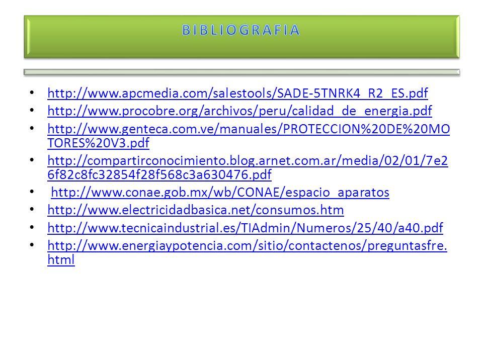 http://www.apcmedia.com/salestools/SADE-5TNRK4_R2_ES.pdf http://www.procobre.org/archivos/peru/calidad_de_energia.pdf http://www.genteca.com.ve/manual