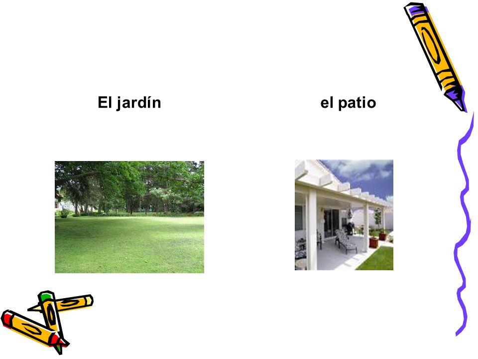 El jardínel patio