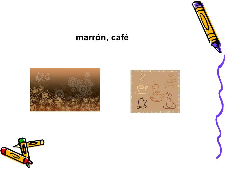 marrón, café