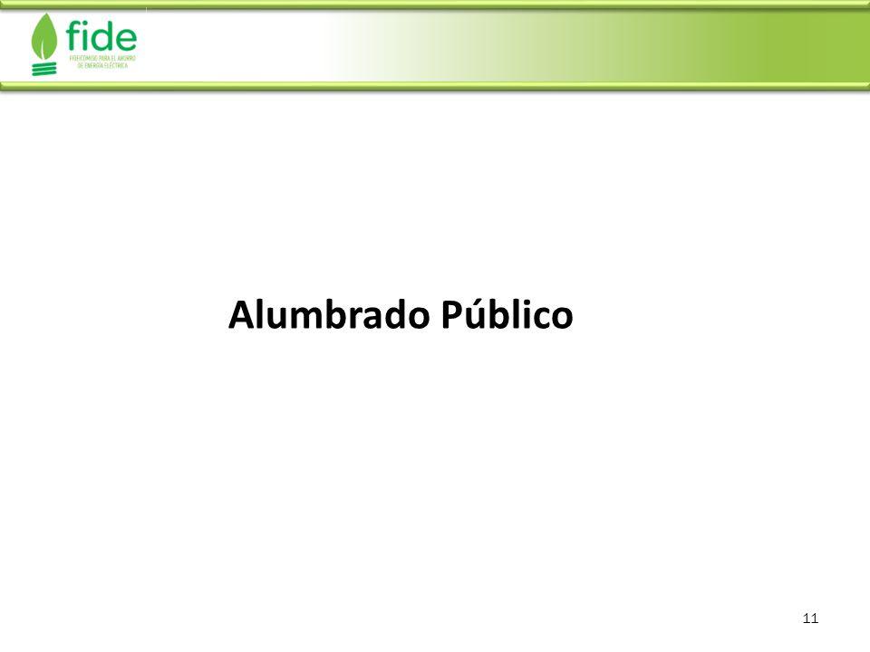 11 Alumbrado Público