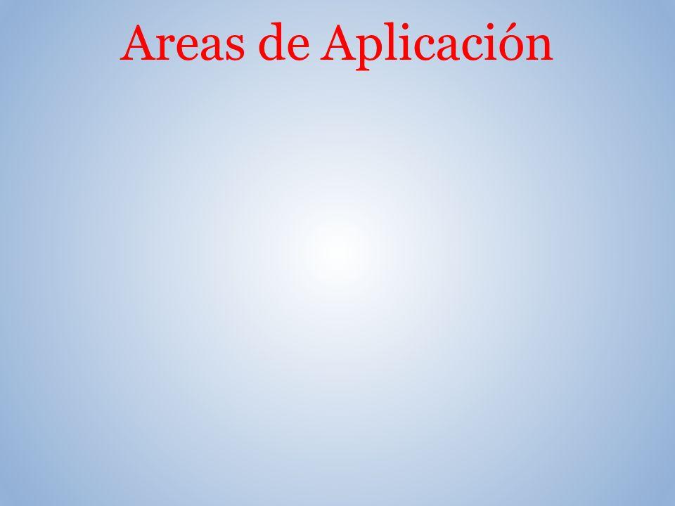 Areas de Aplicación