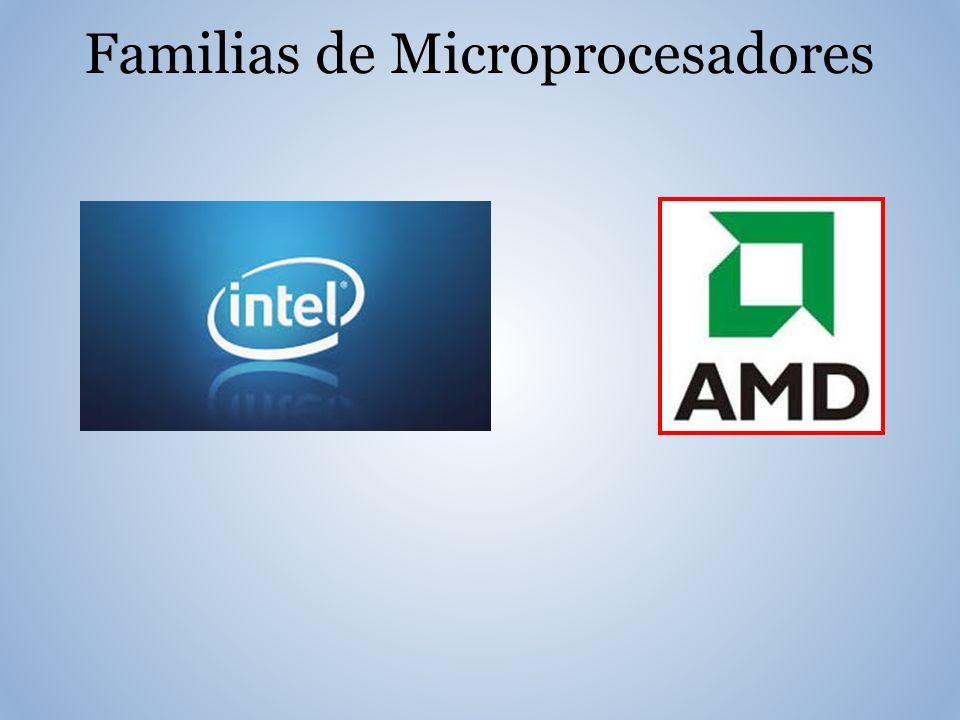 Familias de Microprocesadores