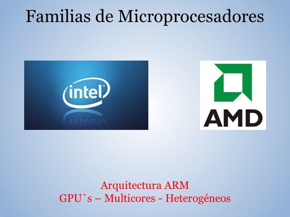 Arquitectura ARM GPU`s – Multicores - Heterogéneos