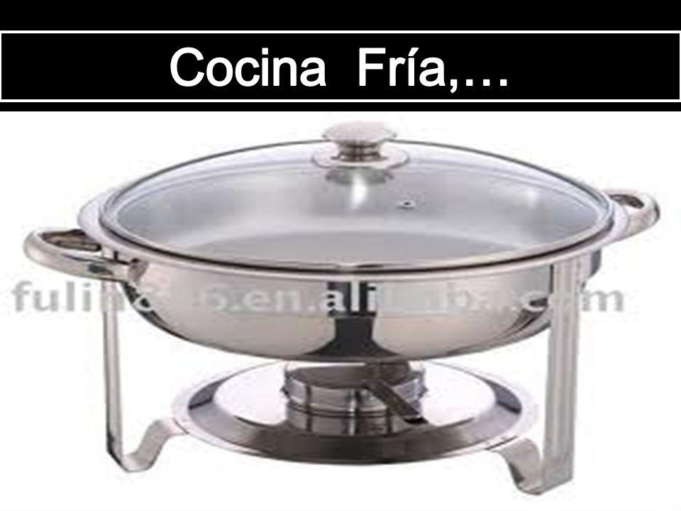 DIVISION GENERAL DE UNA COCINA : La cocina Colombiana es una combinación de las dos grandes cocinas, La Europea y la Americana. Sin embargo su Organiz